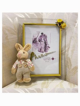 Photo Frame with a cuddly Toy (boy)